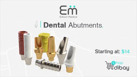 Meet Edison Medical's online store - dibay, the fastest growing dental implant marketplace